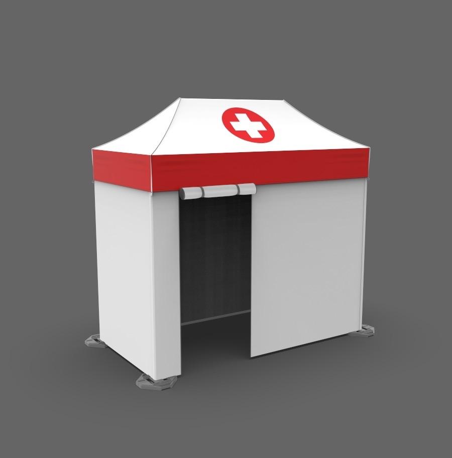 5x10 pop-up medical tents