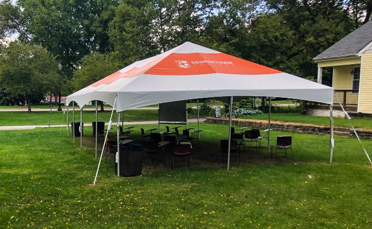 Georgetown College Classroom Tent