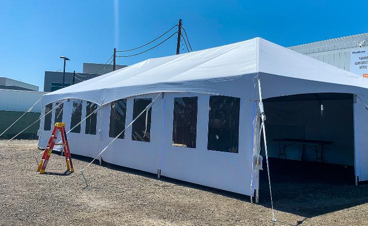 Outdoor Classroom Tent